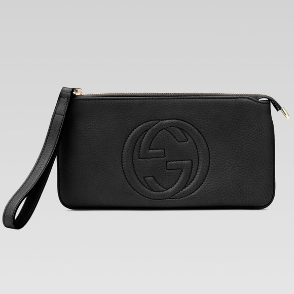 debcec2ee7f1 Gucci Bags | Authentic Soho Black Wristlet | Poshmark